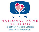 VFW National Home logo